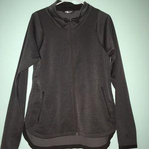 Woman's North Face Zip Up Sweatshirt